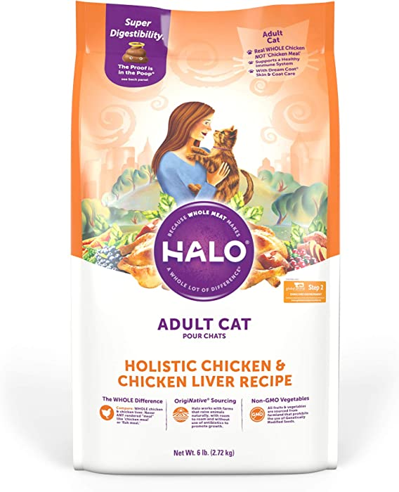Top 10 Halo Cat Food 6 Dry