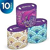 Kleenex Collection Oval Kosmetiktücher 3-lagig, 10er Pack (10 x 64 Stück)