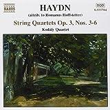 Streichquartette Op. 3 Nr. 3-6 (Romanus Hofstetter Zugeschrieben)