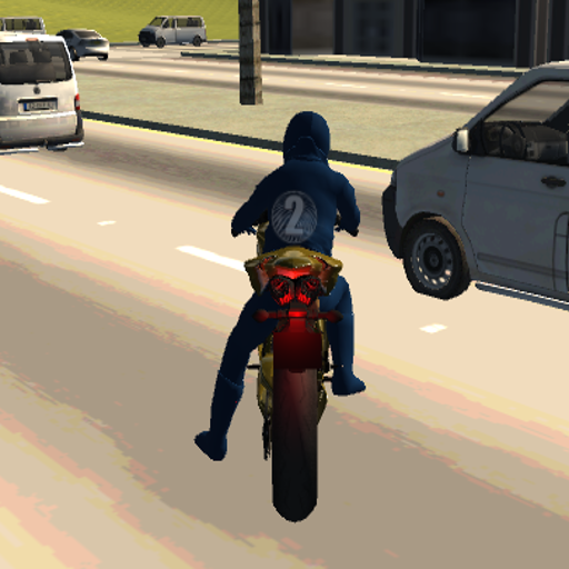 Motorcycle Driving Simulator 3D