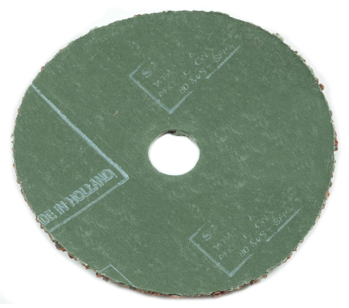 4-Inch 16-Grit Aluminum Oxide with 7//8-Inch Arbor Forney 71673 Sanding Discs 3-Pack
