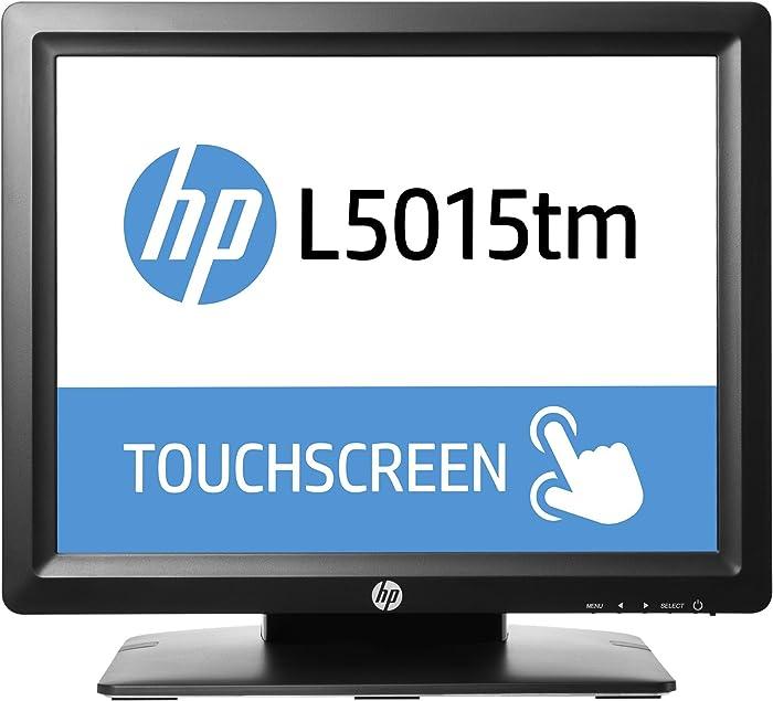 HP M1F94A8#ABA L5015tm 15'' LED-Backlit LCD Monitor, Black