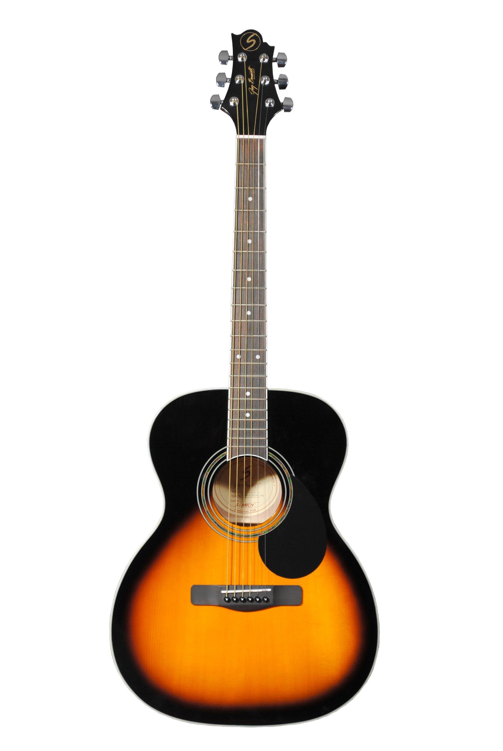 Samick Greg Bennett Design GD100S Acoustic Guitar, Vintage Sunburst by Samick
