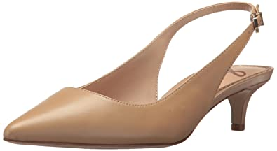 479b06b275e48b Sam Edelman Women s Ludlow Pump Classic Nude Leather 5 ...