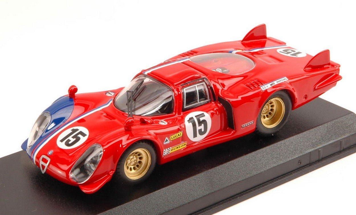 a precios asequibles Best Best Best Model BT9612 Alfa Romeo 33.2 LM N.15 LM Test 1969 PILETTE-SLOTEMAKER 1:43  están haciendo actividades de descuento