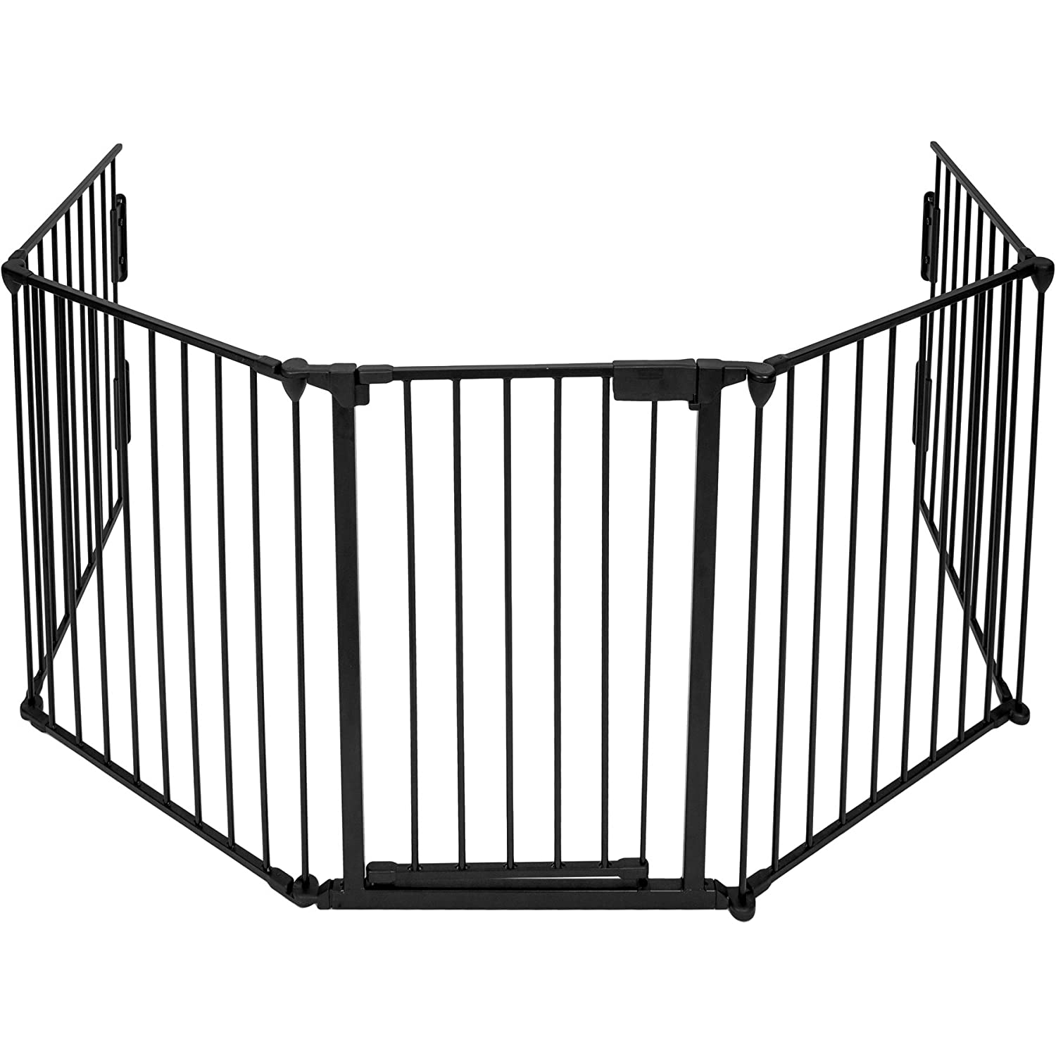 TecTake Premium Hearth Gate Fire Guard Black 300cm 400754