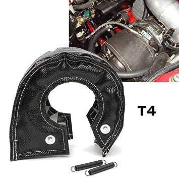 T4 - Manta turbo para coche con protección contra el calor y cierre de muelles: Amazon.es: Coche y moto