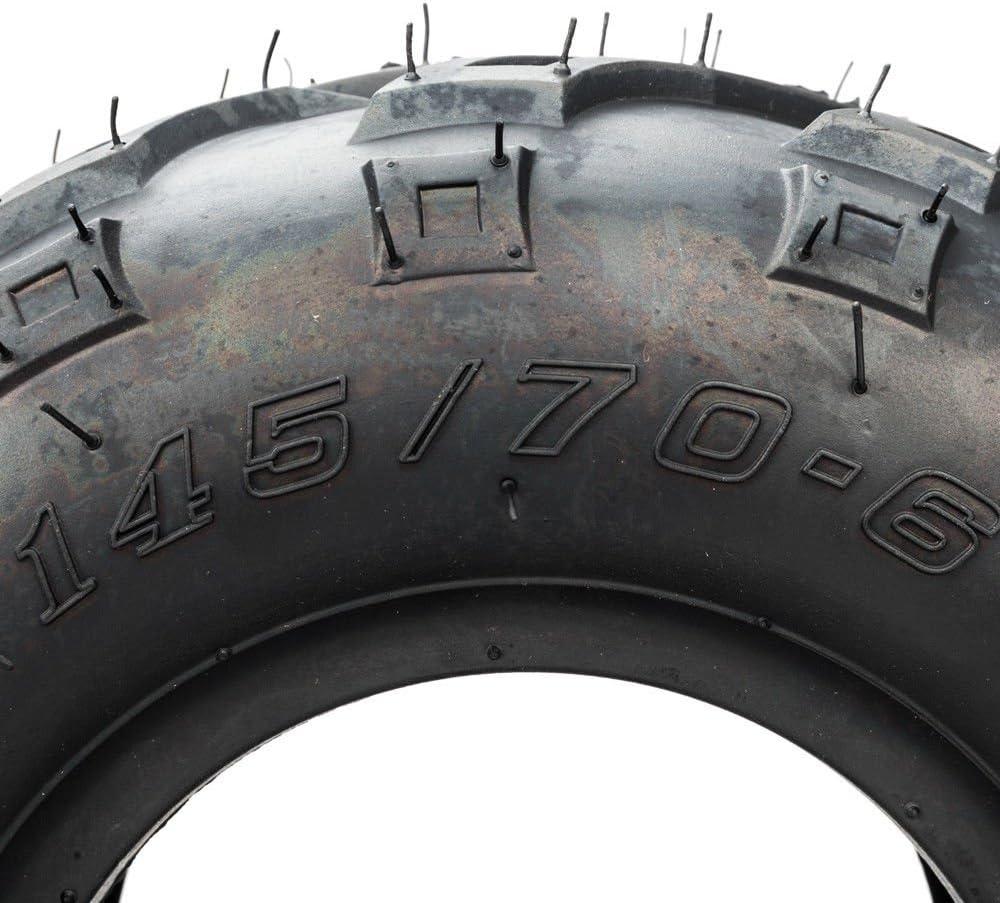 Roadstar 6 Inch ATV Tires 145//70-6 Fit for Sport ATV Go Kart Tires 4PR P361 Pack of 2