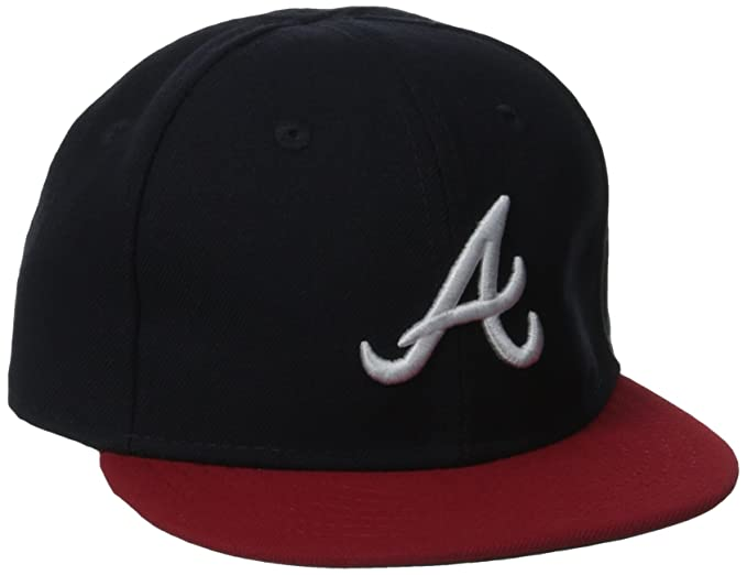 save off fce2f de191 Amazon.com   MLB Atlanta Braves Home My 1st 59Fifty Infant Cap, Size 6    Sports Fan Baseball Caps   Clothing