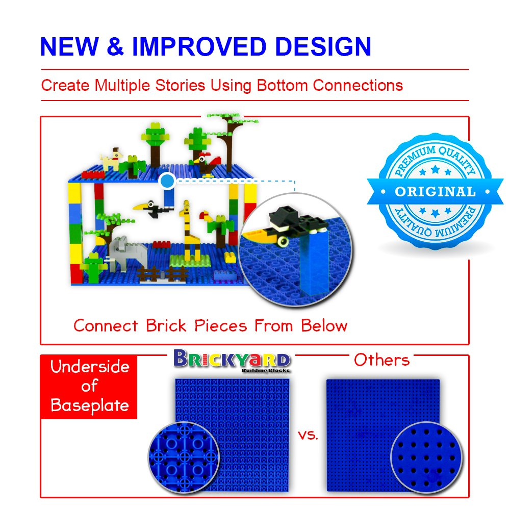 Brickyard Building Blocks - Bases para Bloques De ...