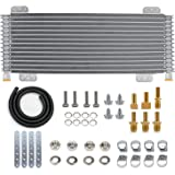 LPD47391 Low Pressure Drop Transmission Oil Cooler - Heavy Duty 40,000 GVW Transmission Performance Oil Cooler with Mounting