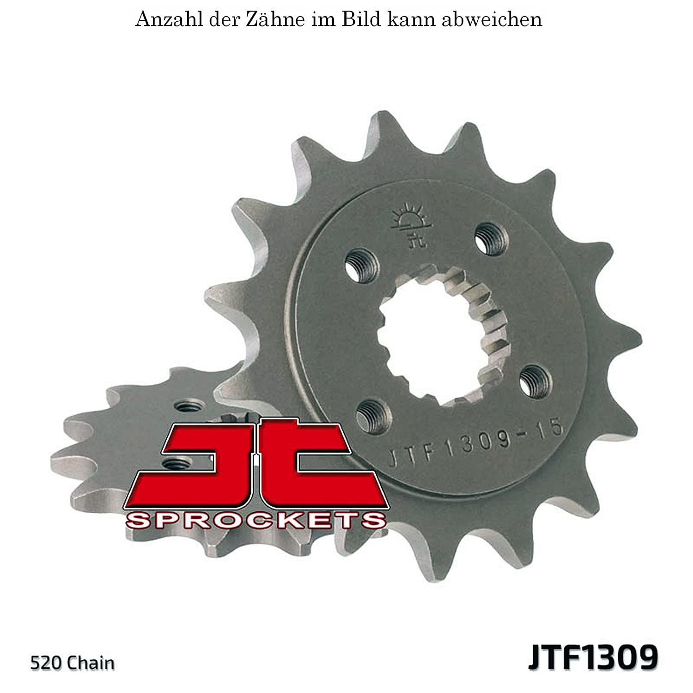 Ritzel 16 Z/ähne f/ür TRX 400 EX Sportrax Baujahr 2005-2008 von jtSprockets