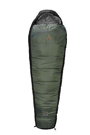 GRAND CANYON Fairbanks XL - saco de dormir tipo momia, 3 estaciones, oliva, 301004: Amazon.es: Deportes y aire libre