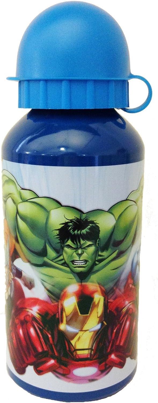 Officiel Marvel Avengers Iron Man Thor Hulk Captain America Sac-repas Bouteille Set