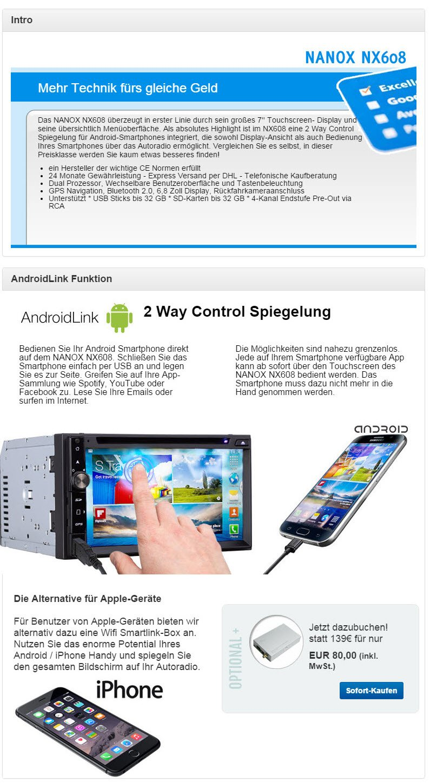 Seite an Seite Foto App für Android