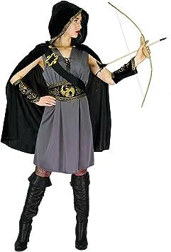 SEA HARE Disfraz de Cazadora con Capucha Mujer (L): Amazon.es ...