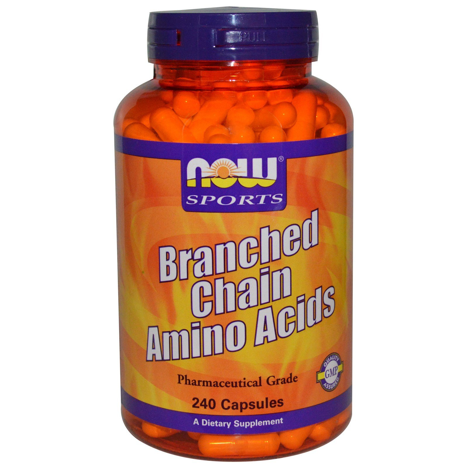 Now Foods Branched Chain Amino Acids - 240 Capsules