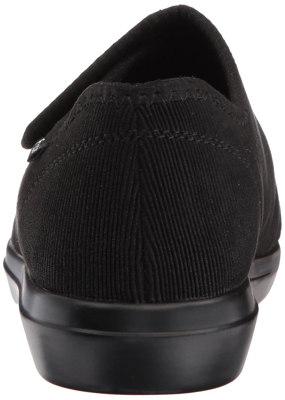 Propét Women's Cush N Foot Slipper B01NADQ4MK 8 4E US|Black Corduroy