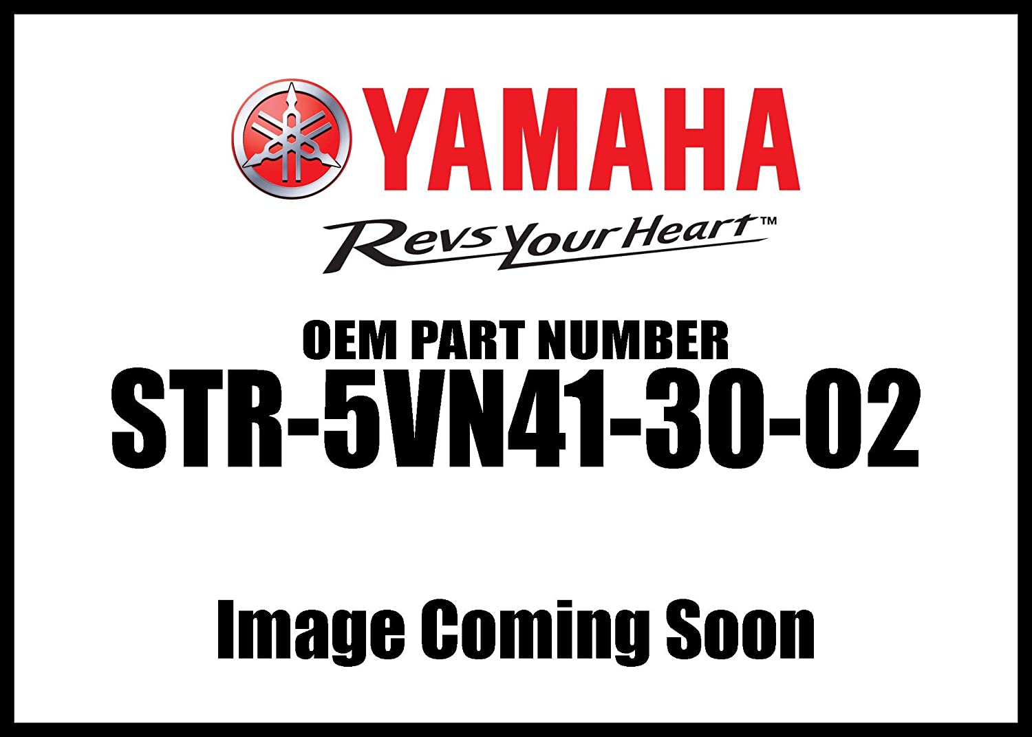 Yamaha STR-5VN41-30-02 Quick-Release Backrest Tall Upright for Yamaha Road Star