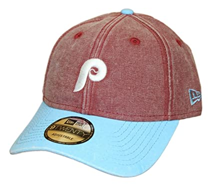 timeless design fc0b8 a4781 Image Unavailable. Image not available for. Color  New Era Philadelphia  Phillies 9Twenty Cooperstown Rugged Canvas Adjustable Hat