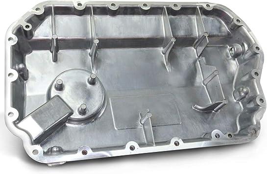 Lower Engine Oil Pan for Audi 2.8L w// Low Oil Level Sensor