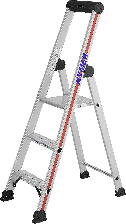 HYMER 402603 - Escalera de tijera: Amazon.es: Bricolaje y herramientas