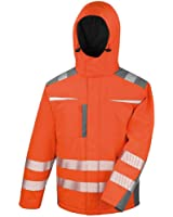 Result Safeguard Mens Dynamic Hi-Visibility Softshell Work Coat