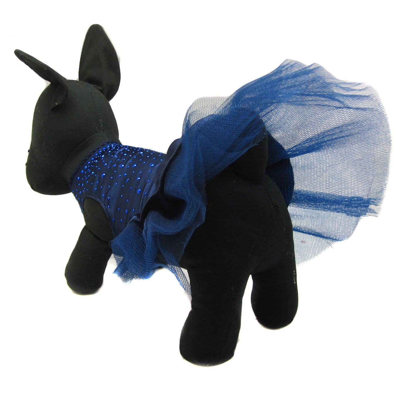Alfie Pet by Petoga Couture - Shirley Tutu Party Dress - Color: Navy, Size: Small by Alfie (Image #8)