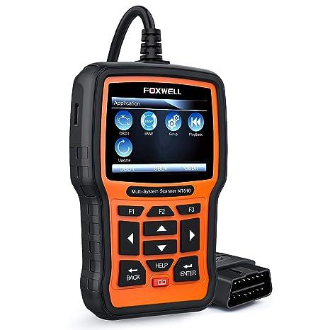 FOXWELL NT510 Automotive Scanner for BMW OBD II Obd2 Code