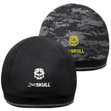 df004d9c16445 2nd Skull CAP – Protective Headgear for Amateurs and Pros - Shock Reduction  - Anti Sweating - Anti-Smells - For Contacts Sports
