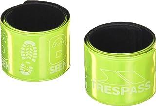 Trespass Snapper – Brassard réfléchissant à Haute visibilité(Lot de 2) (Taille Unique) (Jaune Fluo) UUACMIJ30005_HVGEACH