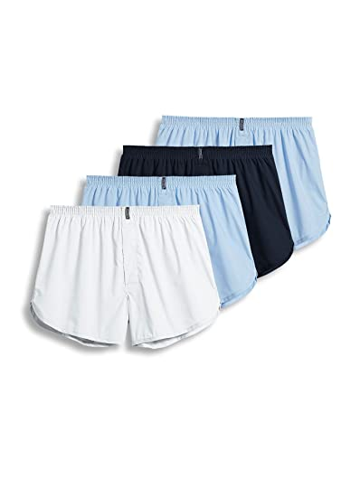 buy real really cheap shop for authentic Jockey Men's Underwear Tapered Boxer - 4 Pack