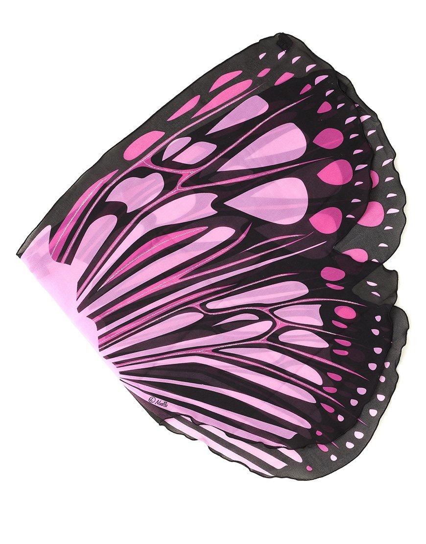 DREAMY dress-ups 50558Rose Burst papillon ailes Costume (Taille unique)