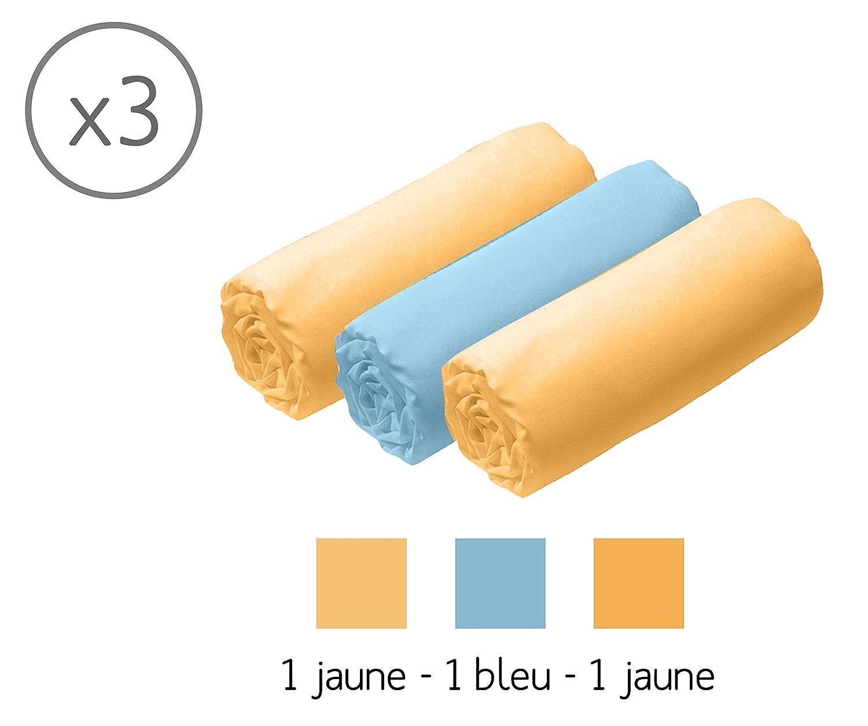 Fabrication Fran/çaise 3 draps gar/çon Pour landau 40x80 Matelas Lit B/éb/é Tencel 1 al/èse D/éhoussable Modulit