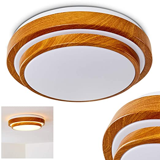 Lámpara de techo LED moderna - Sora - color blanco cálido ...