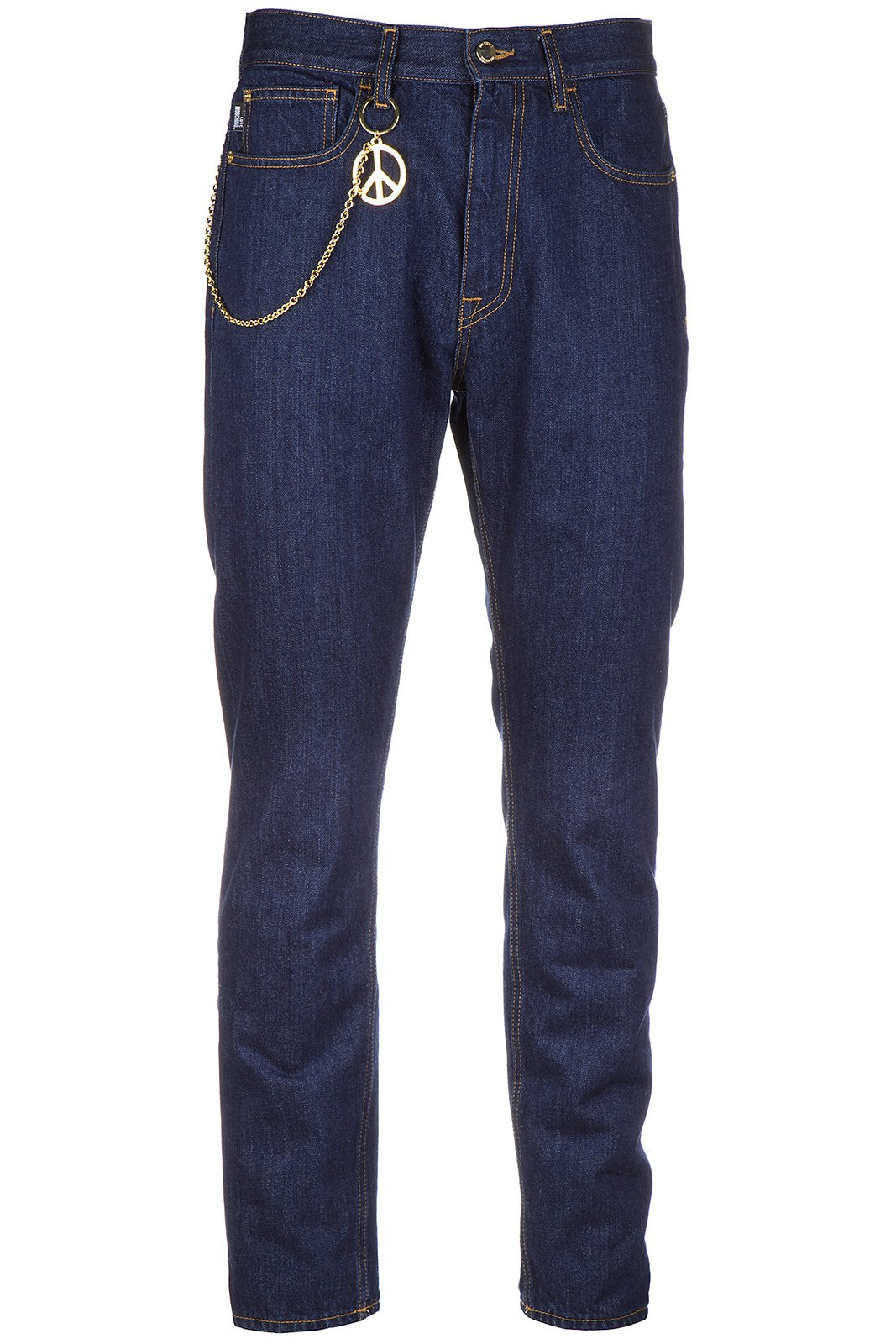 Love Moschino Men's Jeans Denim Blu US Size 32 (US 32) M Q 442 80 T 8632 00
