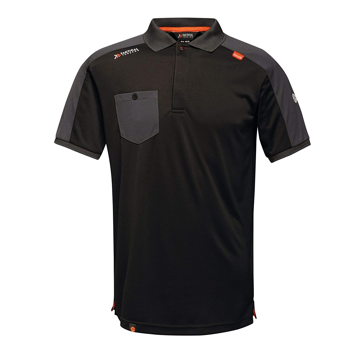 Tactical Threads Mens Offensive Wicking Workwear Polo Shirt