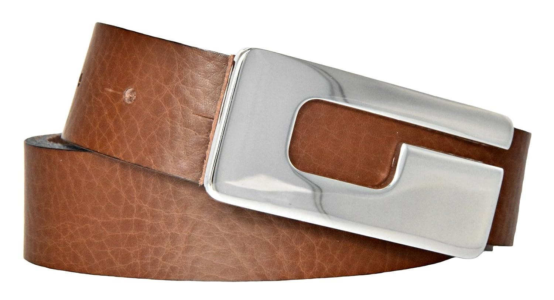 Mytem-Gear Damen Leder Gürtel 30 mm Nappaleder Damengürtel Ledergürtel MGD301648