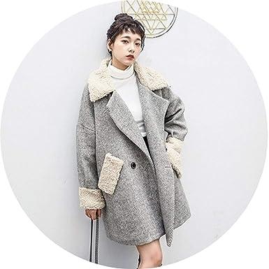 Amazon.com: Chaquetas y abrigos de invierno otoño para mujer ...