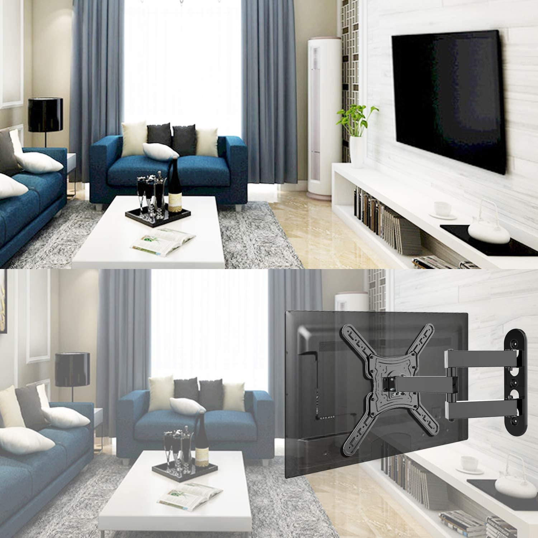 """KDG Full Motion TV Wall Mount Swivel Articulating Tilt TV Bracket for Most 28""""-55"""