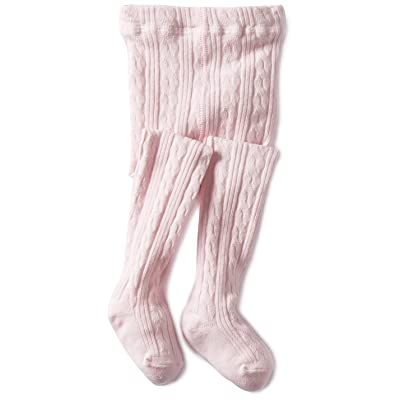 Jefferies Socks Baby Girls' Cable Tight
