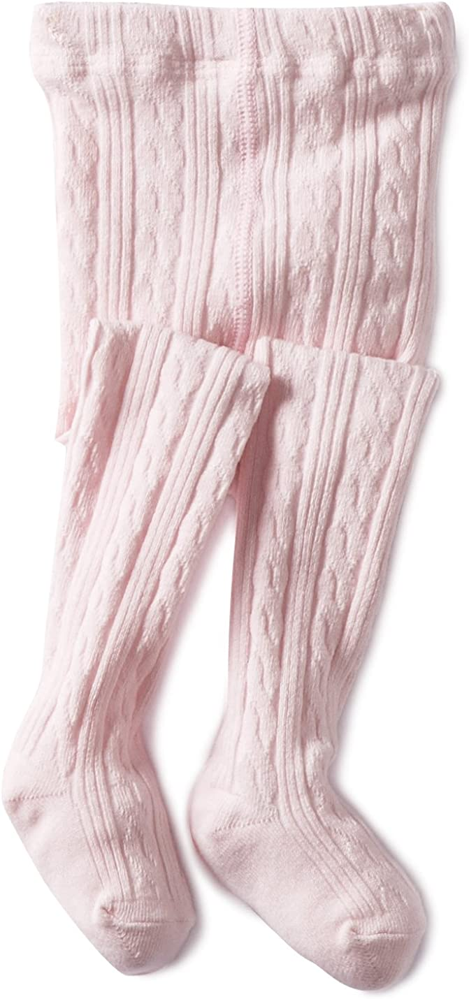 Jefferies Socks Baby Girls Cable Tight 1 Pack