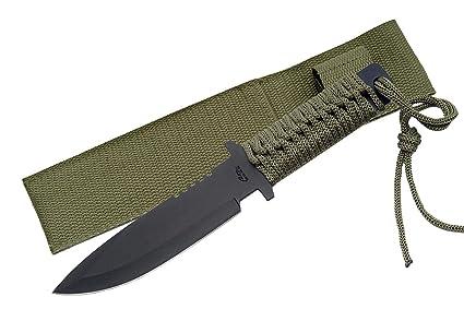 Amazon.com: szco Suministros Militares Spear Punto cuchillo ...