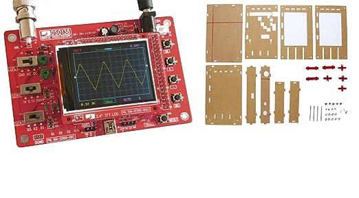Kkmoon Dso138 2 4 Tft Handheld Taschenformat Digitales Oszilloskop Diy Teile Acryl Diy Case Cover Hülle Für Dso138 Alle Produkte