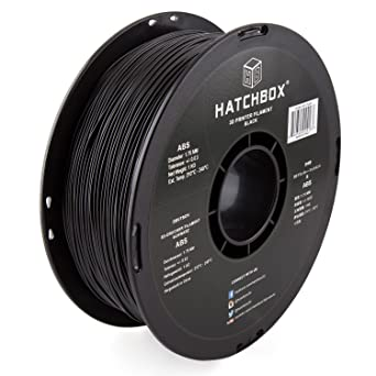 Amazon.com: Filamento para impresora 3D HATCHBOX 3D ABS-1KG1 ...