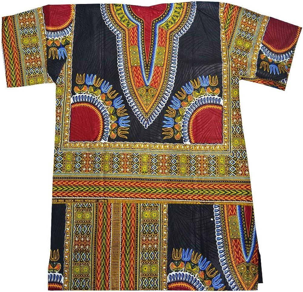 Horus Artesanía de Egipto Camisa Africana algodón Wax ...
