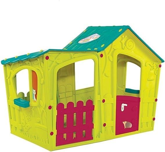 Keter Casita infantil magica juego en jardin, Resistente a las condiciones climáticas y la radiación UV: Amazon.es: Juguetes y juegos