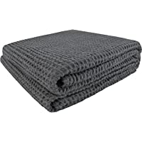PHF Waffle Weave Blanket 100% Cotton