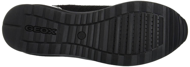 Geox Damen D Airell A C9999) Sneaker Schwarz (schwarz C9999) A 8d3705