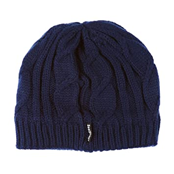 Sealskinz Waterproof Cable Knit Beanie - Blue 4eec2dc2308